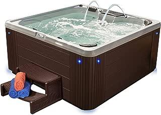 Essential Hot Tubs 40 Jets, Alterra, Acrylic Hot Tub, Espresso