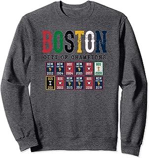 Boston City Champion Sports Championship Banner Title TShirt Sweatshirt