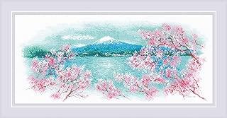sakura cross stitch