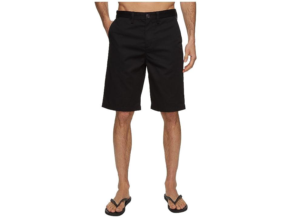 d7befaf9fb Billabong Carter Walkshorts (Black) Men's Shorts