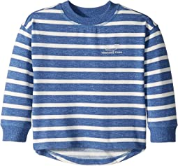 Cozy Stripe Whale Pullover (Toddler/Little Kids/Big Kids)