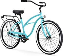 sixthreezero Around The Block Women's Single Speed Beach Cruiser Bicycle, 24