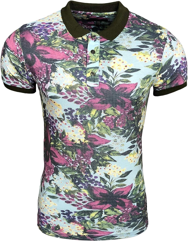 Rusty Neal Herren Polo Shirt T-Shirt Natur Nature Blätter A1-RN-15168 A1-RN-15168 A1-RN-15168 B07DPV3J59  Elegante Farbe b411e0
