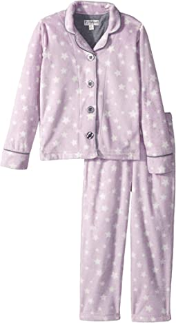 Written in the Stars Notch Collar Star PJ Set (Little Kids/Big Kids)