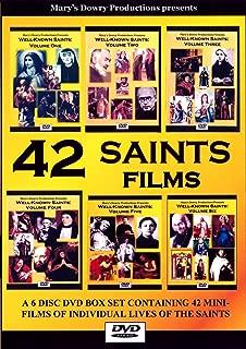 42 Saints Films Box Set - Lives of the Saints 6 DVDs, Confirmation, Patron Saint, Catholic Saints, Family, RCIA, Holy Communion, Catholic Education