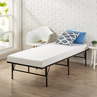 Zinus Memory Foam 4 Inch Mattress, Narrow Twin / Cot Size / RV Bunk / Guest Bed Replacement / 30