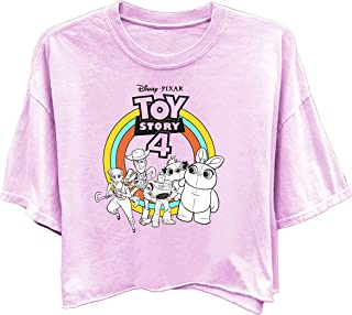 Ladies Toy Story Fashion Shirt - Ladies Classic Toy Story Tee - Buzz Lightyear and Woody Washed Short Sleeve Tee