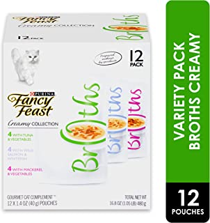 Purina Fancy Feast Broths Adult Wet Cat Food Complement