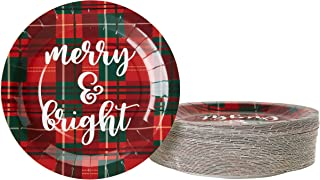 Best clearance christmas paper plates Reviews