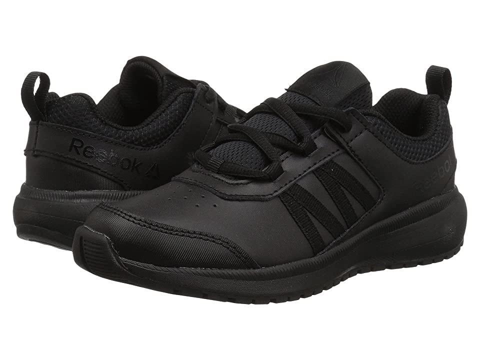 Reebok Kids Road Supreme (Little Kid/Big Kid) (Black) Kids Shoes