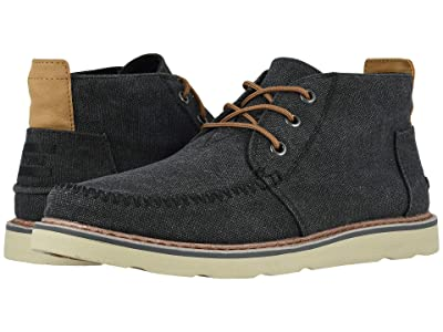 TOMS Chukka (Black Washed Canvas) Men