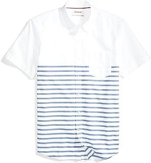 Goodthreads Standard-Fit Short-Sleeve Pocket Oxford Shirt