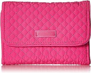 Vera Bradley womens Iconic Rfid Riley Compact Wallet, Microfiber