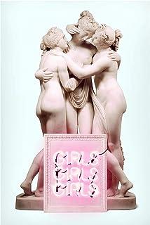 Bilderwelten Pizarra magnética - Statue Girls 90x60cm