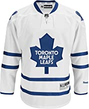 Toronto Maple Leafs Blank White Away Premier Youth Jersey