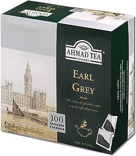 Ahmad Tea - Aromatic Earl Grey - 100 Teebeutel ohne Band