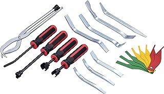 Kauplus Brake Service Kit, 14-Piece Professional Drum Brake Tool Set w/Brake Lining Gauge