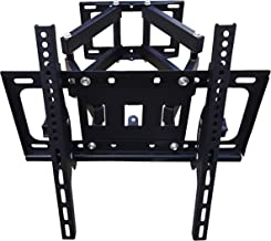 Aewio TV Wall Mount for 26-55 inch LED LCD Flat Panel TV up to VESA 400x400mm and 99lbs Weight Load Capacity (Up and Down and Level Adjustment for 26-55 inch TV)