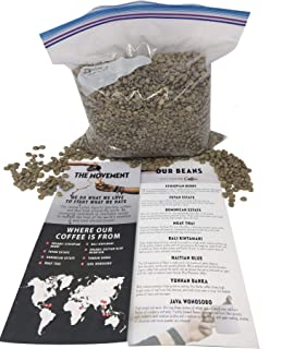 City Centre Coffee-Fuyan Estate-Green Whole Bean Coffee from China, 5 lb