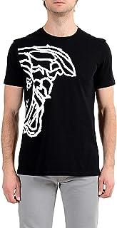 Collection Men's Black Graphic Short Sleeve Crewneck T-Shirt Sz US XL IT 54