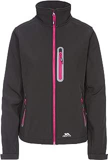 Trespass giacca impermeabile softshell lorinagiacca da donna con cappuccio rimovibile amazon rosa giacche softshell