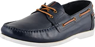 Axcellence Men's Leather Boat Shoes