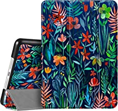 """Fintie Case for iPad 7th Generation 10.2 Inch 2019 - Lightweight Slim Shell Standing Hard Back Cover with Auto Wake/Sleep Feature for iPad 10.2"""" Tablet, Jungle Night"""
