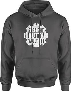 Straight Outta Vault 111 Unisex Adult Hoodie