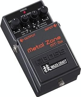 BOSS WAZA CRAFT Metal Zone Guitar Pedal (MT-2W)