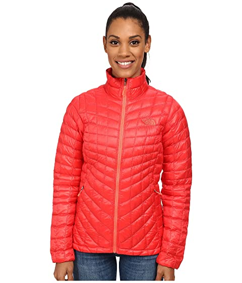 Zip Temporada Face Jacket Full Melon anterior Red ThermoBall® North The vqPFW