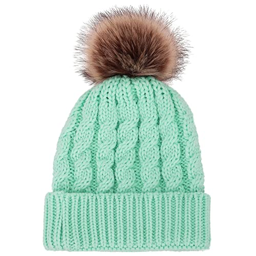 d8653006a16 Winter fur pompom hat Products t Products