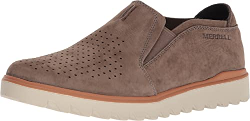 Merrell Men's Downtown Moc Turnschuhe, Stone, 11 Medium US