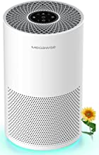 تصفیه کننده هوا هوشمند MEGAWISE برای اتاق بزرگ خانه ، فیلتر H13 True HEPA ، CADR 322m³ / h ، سنسور هوشمند کیفیت هوا ، حالت خواب ، تمیز کننده هوای آرام برای گرده گل ، آسم ، حیوانات خانگی ، بو ، دود ، گرد و غبار ، ازن آزاد
