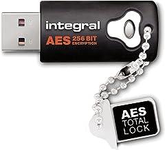 Integral 16GB Neon USB Flash Drive - Memoria USB de 8 GB, Negro