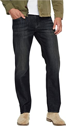 Mavi Jeans - Zach Regular Rise Straight Leg in Deep Brushed Stanford