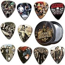 Avenged Sevenfold 10 X Guitar Plectrums & Tin ( Ltd. To 100 )