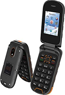 Rugged Flip Phone 4G GSM Unlocked Water Proof Shock Proof IP68 Military Grade Tmobile Metro Straight Talk - ORG