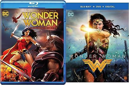 Super Pack Wonder Woman Commemorative Edition blu-ray + DVD + Wonder Woman Gal Gadot Feature Film DC Super Heroes Power