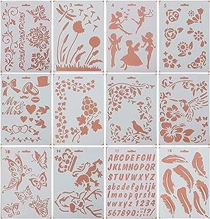 flower spray paint stencils