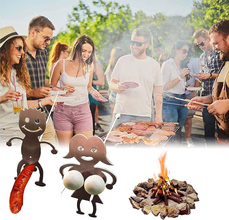 New product!! MINMIN Hot Dog Sticks Women Novelty Max 53% OFF Marshmallow Roasting