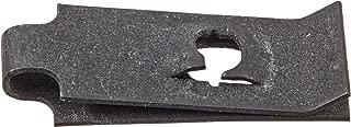 #8 Carton: 1,000 pcs C8113-8-4 Tinnerman Style U-Type Spring Nuts//Steel//Black Phos
