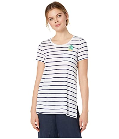 Tommy Bahama One Wave Or Another Tee (White) Women