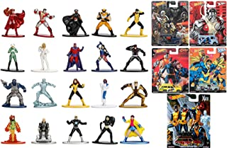 X-Car Premium Pop Culture Rides Character Team Cars Real Riders Bundled with X-Men Figure Collection Marvel Super Heroes W...