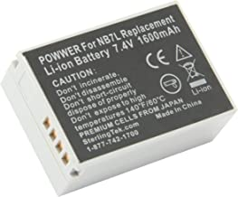 STK's Canon NB-7L Battery Pack - 1600mAh for Canon Powershot SX30 IS, G12, SX30IS, G11, G10, Cannon, CB-2LZ, NB7L