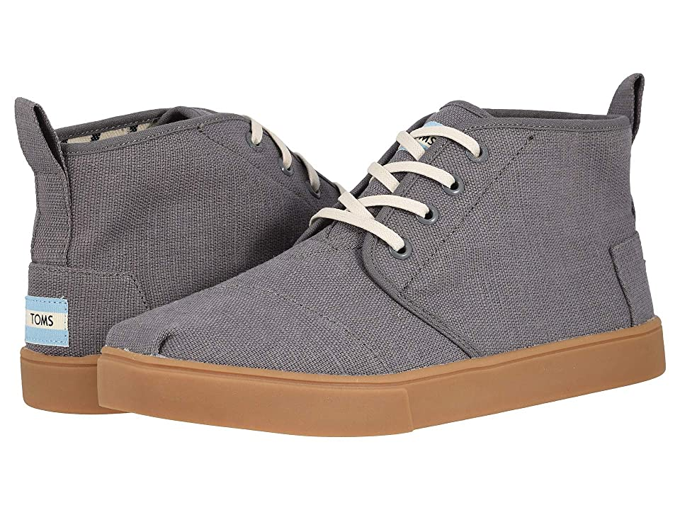 2dfd075c949 TOMS Botas Cupsole (Shade Grey Heritage Canvas Cupsole) Men s Lace up  casual Shoes