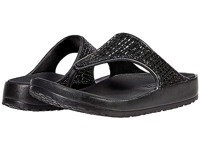 SKECHERS Cali Gear Cali Breeze 2.0 Rhinestone Hooded Sandals
