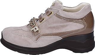 venta de ofertas CESARE P. zapatillas Mujer Gamuza Beige Beige Beige  Para tu estilo de juego a los precios más baratos.
