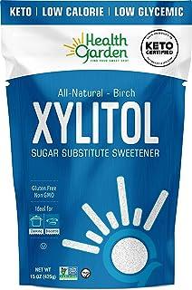 Sponsored Ad - Health Garden Birch Xylitol Sweetener - Non GMO - Kosher - Made in the U.S.A. - Keto Friendly (15 OZ)