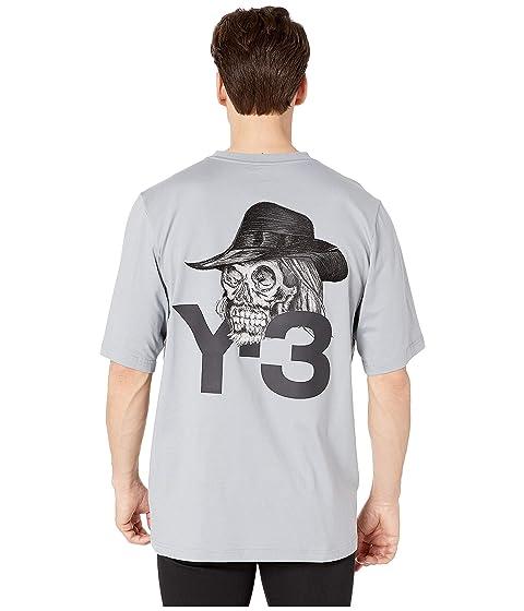 adidas Y-3 by Yohji Yamamoto Yohji Skull Short Sleeve Tee