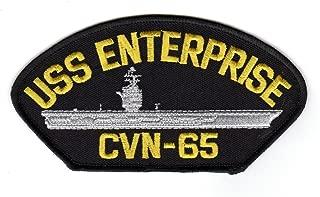 USS Enterprise CVN-65 HC Hat Patch